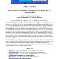 LincPin Volume 1 Issue 3