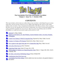 LincPin Volume 2 Issue 1